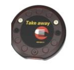 Xplore Take Away Pager für Gästeruf